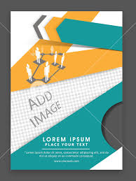 networking flyer creative professional one page business flyer banner or template