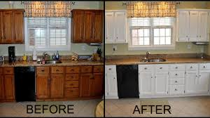 Painting Kitchen Cupboards Painting Paint For Cabinets Out Sanding Oil Or  Latex: Full Size ...