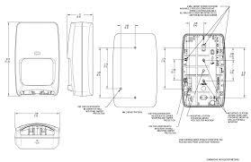 dt7500sn is312 pir at Honeywell Pir Sensor Wiring Diagram