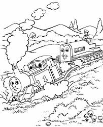 Thomas The Tank Engine Coloring Pages 6 Coloring Kids