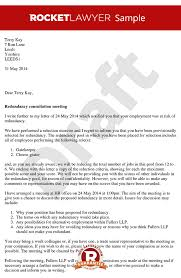 consultation letter arrange a redundancy consultation sample redundancy consultation letter