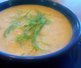 avgolemono soup with leek and celery