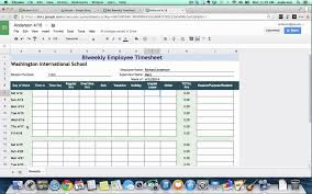 Employee Time Sheets Excel Example Of Monthly Time Sheets With Sample Plus Employee Together