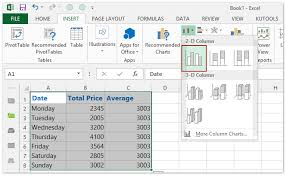 How To Add Average Line In Excel Chart How To Add A Horizontal Average Line To Chart In Excel