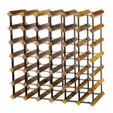 wood metal wine rack. Contemporary Rack Au0026B Home WoodMetal Wine Rack On Wood Metal O