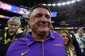 Ed Orgeron and LSU agree to a new six-year, $42-million contract - Los  Angeles Times