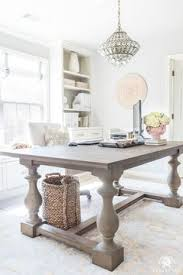 home office with large table desk ideas