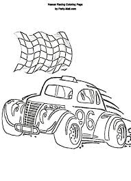 Small Picture Nascar Coloring Pages Coloring Pages Kids