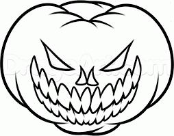 pumpkin drawing. halloween pumpkin drawings drawing