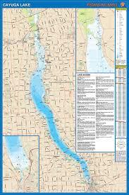Cayuga Lake Fishing Map
