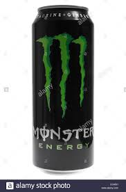 monster can. Plain Can Can Of Monster Energy Drink On White Background  Stock Image And Monster U