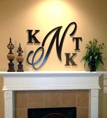 wooden monogram letters for wall awesome monogrammed wall decor wood monogram letters decorations