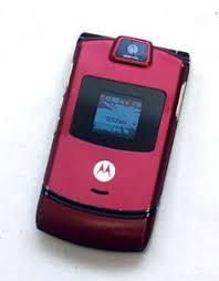 motorola razr pink. motorola razr v3m v3 at\u0026t cell phone razor dark pink razer flip camera microsd c pink