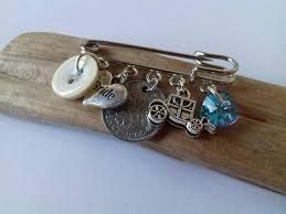 something blue bridal good luck charm lucky sixpence wedding gift bridal gift gifts for her