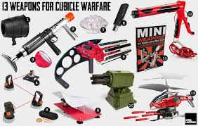 13 weapons for cubicle warfare band office cubicle