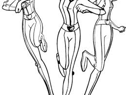 6 Totally Spies Coloring Pages Radiokothacom