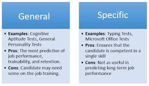 What Are Some Job Skills Why General Tests Deliver Better Hiring Results Than
