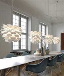 lighting a large room. Danish Designed Flower Pendant With 4m Flex Lighting A Large Room