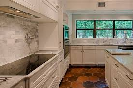 Kitchens With Saltillo Tile Floors Manganese Saltillo Tile Shown In 12x12 Hexagon Terra Cotta Floor