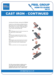 please the first page of the instructions below to our cast iron installation instructions in pdf format