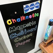 Magnetic Chalkboard Contact Paper, Self ...