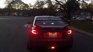 Wrx F1 Fog Light F1 Rear Fog Brake Light Installed 2016 Subaru Wrx Sti
