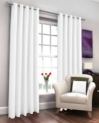 expand marcela white thermal eyelet curtains