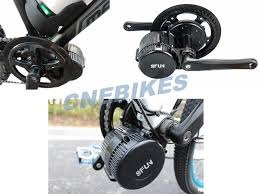 8fun Bafang Mid Crank Motor 36v 350w Mid Drive Ebike Kit For