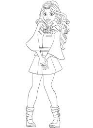 Coloring Pages Descendants 2 Coloring Pages Evie Super Page Of