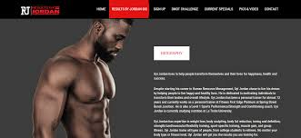 gym website design results by jordan gym website metakave web design development