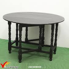 china multi function black wood round folding dining table china folding table folding dining table