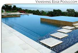 fiberglass pool vanishing edge