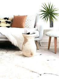 hair on hide rug cow hide rug batik patterned cowhide rug from in modern living room hair on hide rug