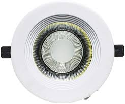 State Light Price High Lumen 30w Round Recessed Led Cob Down Light With Outside Drive Warm White
