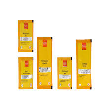 single use sachets in vlcc anti tan kit