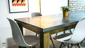 zinc top dining table zinc top dining tables zinc top dining table reviews francesca zinc top zinc top dining table