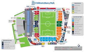 childrens mercy park stadium map sporting kansas city