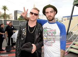 christopher mansfield macklemore. Modren Macklemore Rapper Macklemore With Musician Christopher Mansfield Of Fences Attend The  2014 IHeartRadio Music Festival Village On And R
