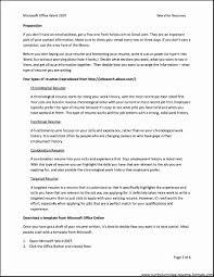 10 Functional Resumes Templates Proposal Sample