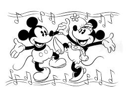 Nieuw Kleurplaten Mickey Mouse En Minnie Mouse Klupaatswebsite