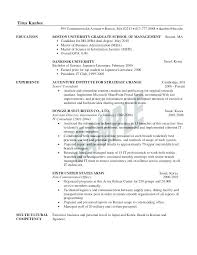 Resume For Mba Application Delectable The Key Skills To List On Your Post Mba Resume Private Equity