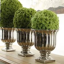 Moss Balls Wedding Decor Beauteous Artificial Milan Glass Moss Balls Green Plants Grass Simulation