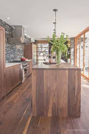 Walnut Floor Kitchen Stunning Contemporary Home With Wide Plank Black Walnut Floor