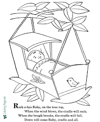 Color the pages with them and that is also called a mother and child bonding. Nursery Rhymes Nursery Rhyme Coloring Pages