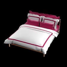 hotel collection duvet cover set by la cozi 3d model