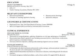 Nursing Resume Template Inspiration Student Nursing Resume Samples Examples Example Free Template