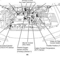 1997 honda accord wont start after running engine page 2 the ect is located at top left front of engine