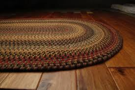 country braided rugs homespice budapest wool braided area rug country cottage