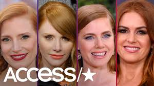 Celebrity Doppelgängers: Jessica Chastain & Bryce Dallas Howard, Isla  Fisher & Amy Adams, And More! - YouTube