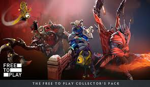 free to play collector s pack dota 2
